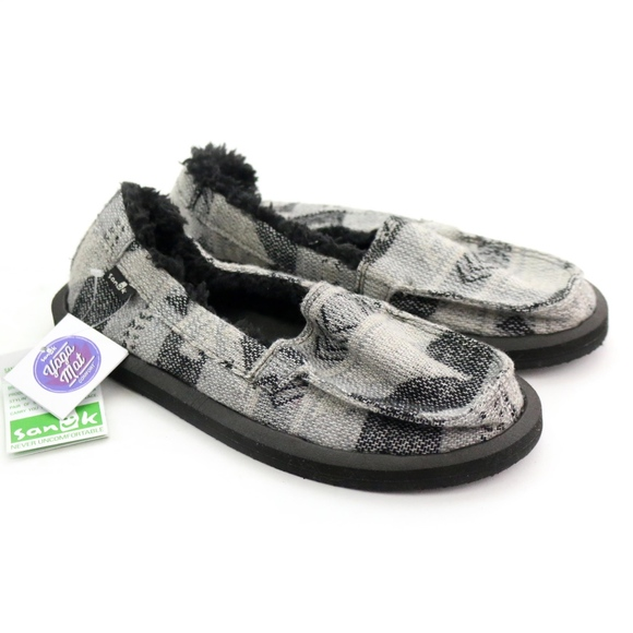 Sanuk Shoes - Sanuk Sidewalk Surfers Shorty Chill TX Charcoal